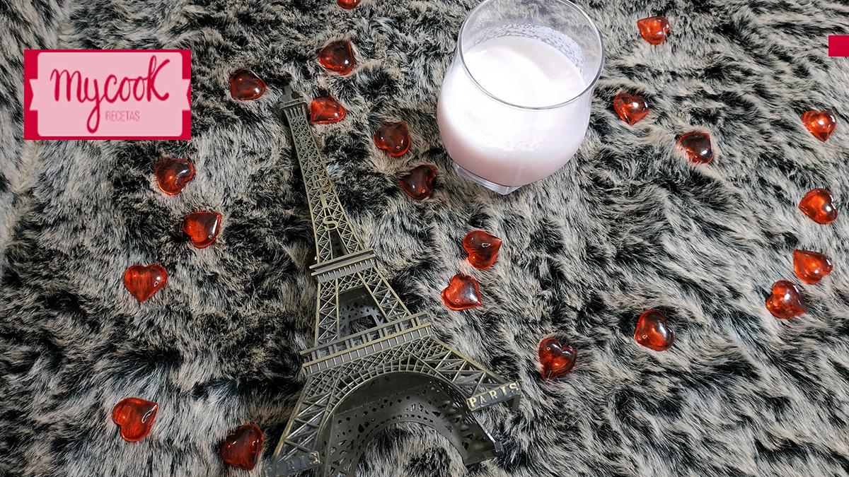 Licor o crema de fresas