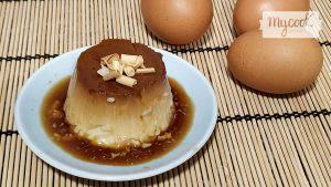flan de huevo con Mycook y microondas