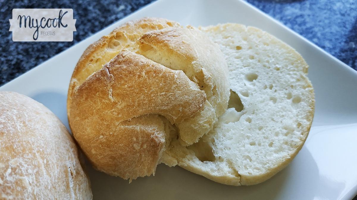 Bollitos de pan sin gluten