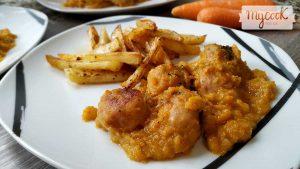 albondigas con salsa de zanahoria