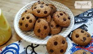 galletas con chips de chocolate