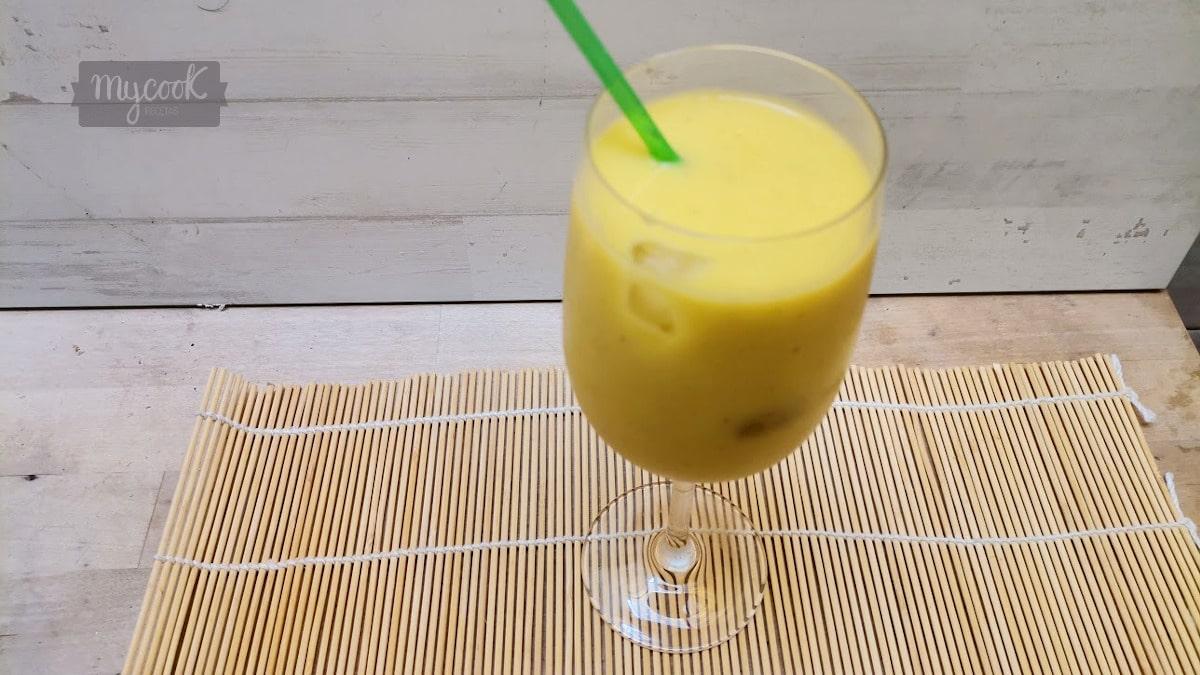 smothie de mango y plátano