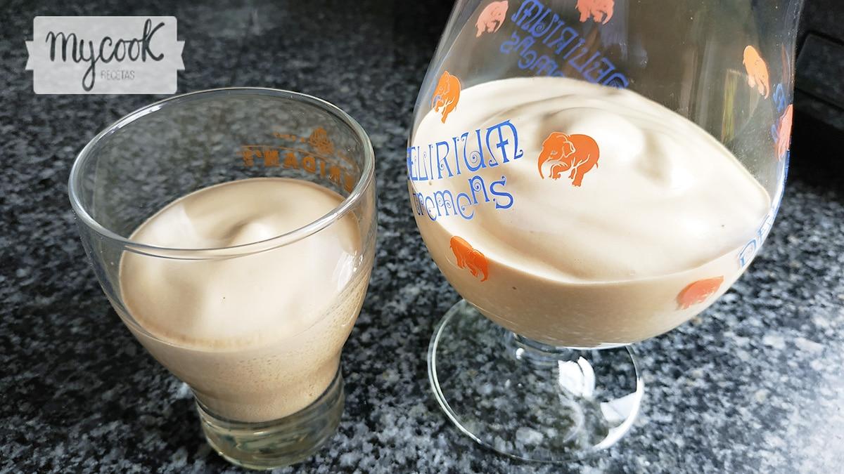 Mousse mágico de café