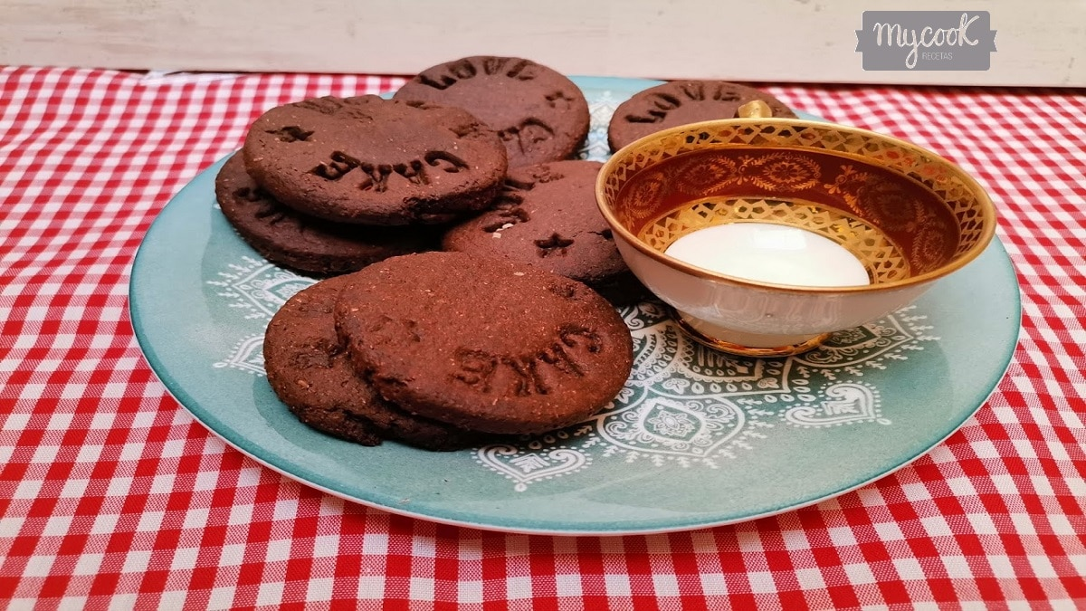 Galletas de chocolate con Mycook