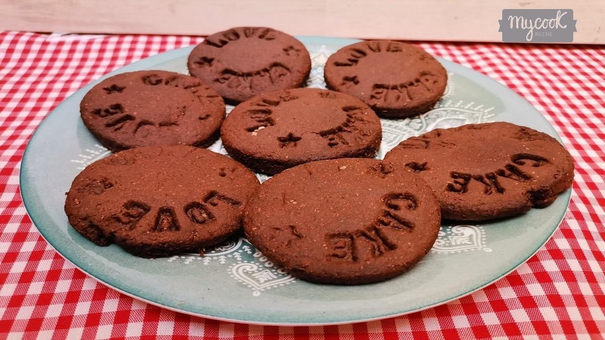 Galletas de chocolate con Mycook