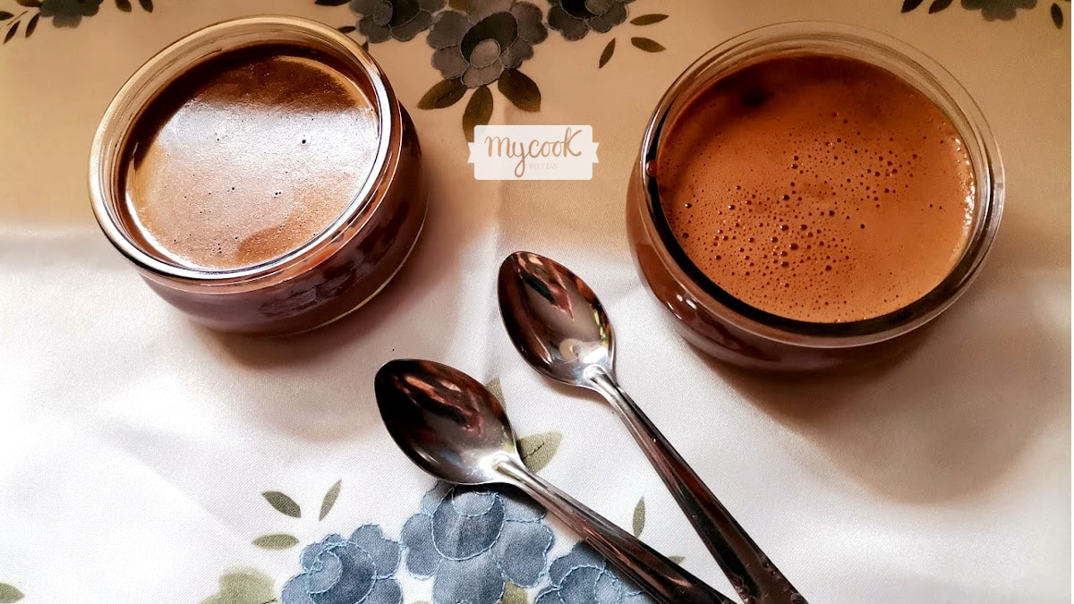 Yogur cremoso de chocolate con Mycook