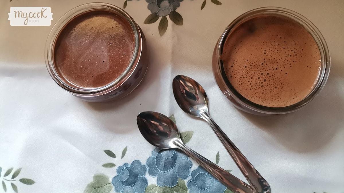 Yogur cremoso de chocolate con Mycook
