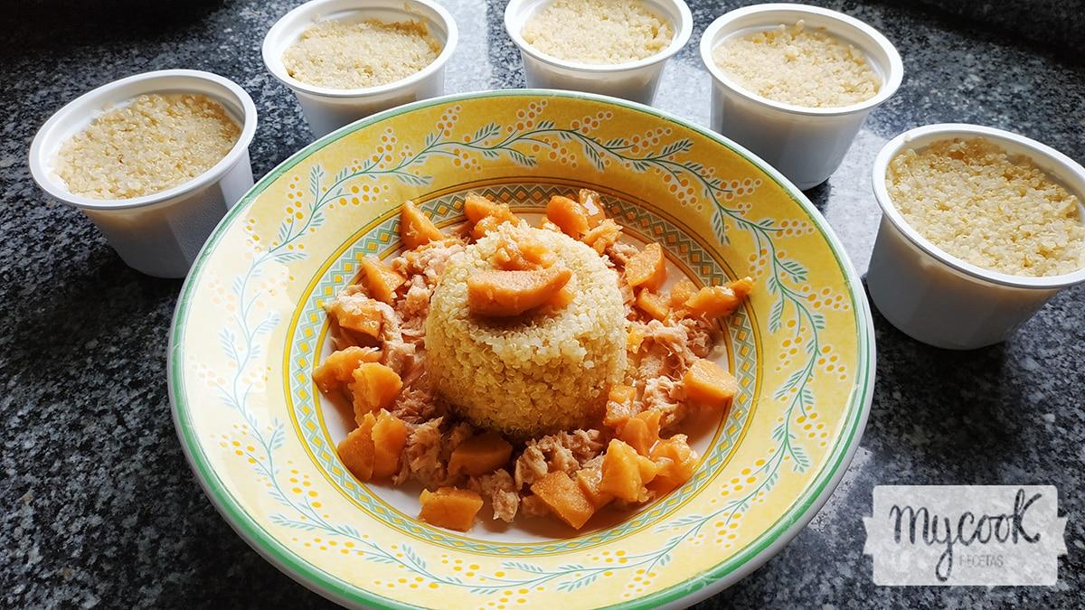 Quinoa cocinada con mycook