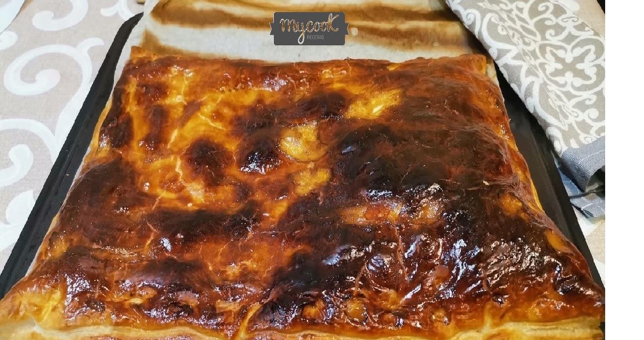 Empanada de atún,pimiento y tomate